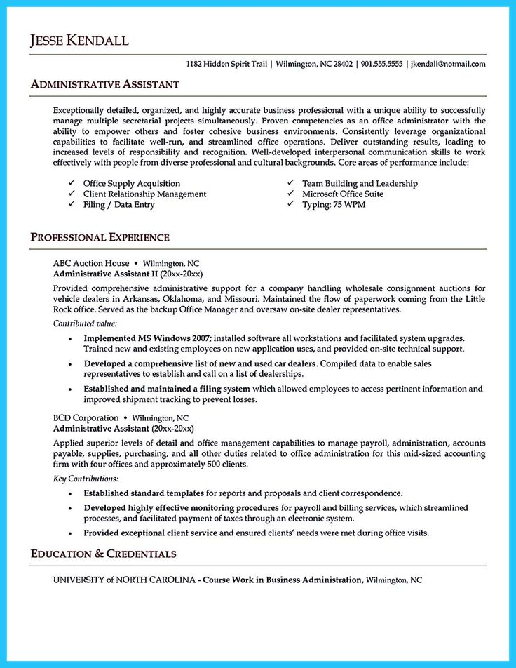 salesforce administrator resume sample administrative resume templates to impress any employer livecareer aploon