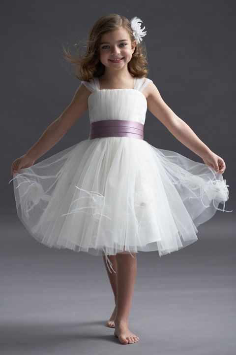 Tulle dress for flower girl - My wedding ideas