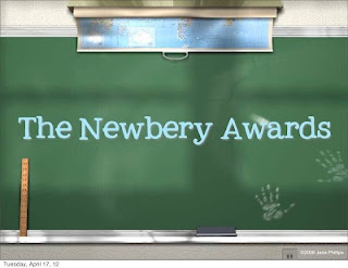 Free Newbery Awards powerpoint.