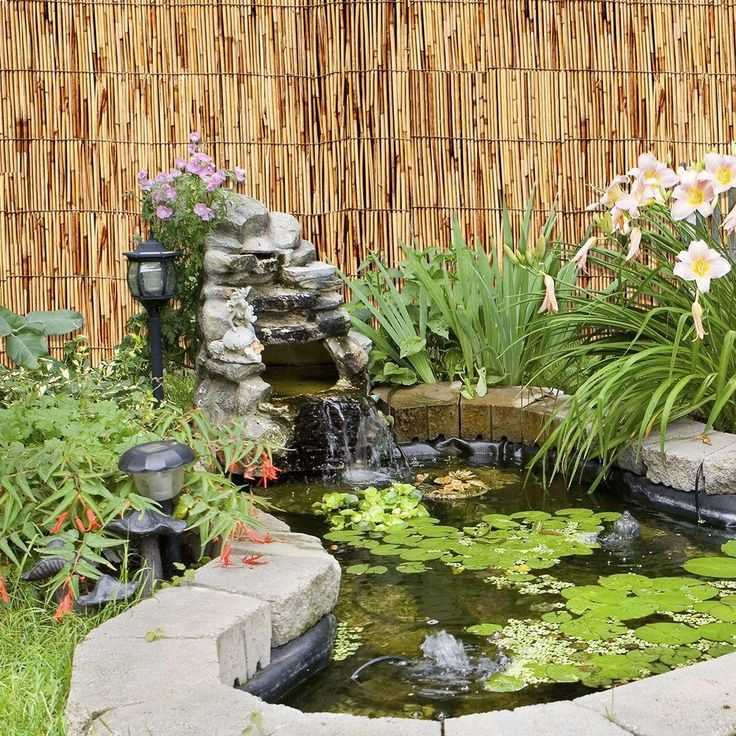 25 Best Ideas About Bamboo Garden Fences On Pinterest