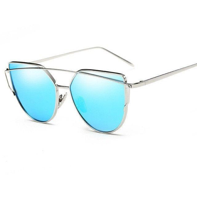 Double-Deck Frame Sunglasses