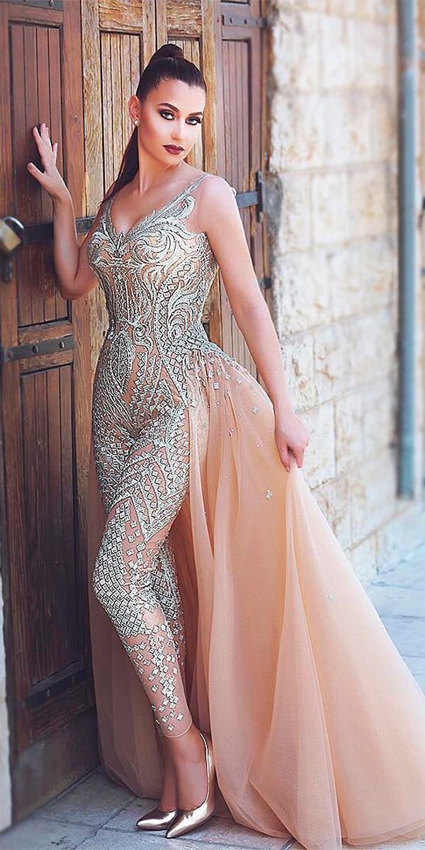cc05e25891cd Trend 2018  24 Wedding Pantsuit  amp  Jumpsuit Ideas ❤ wedding jumpsuits  ideas sleeveless with