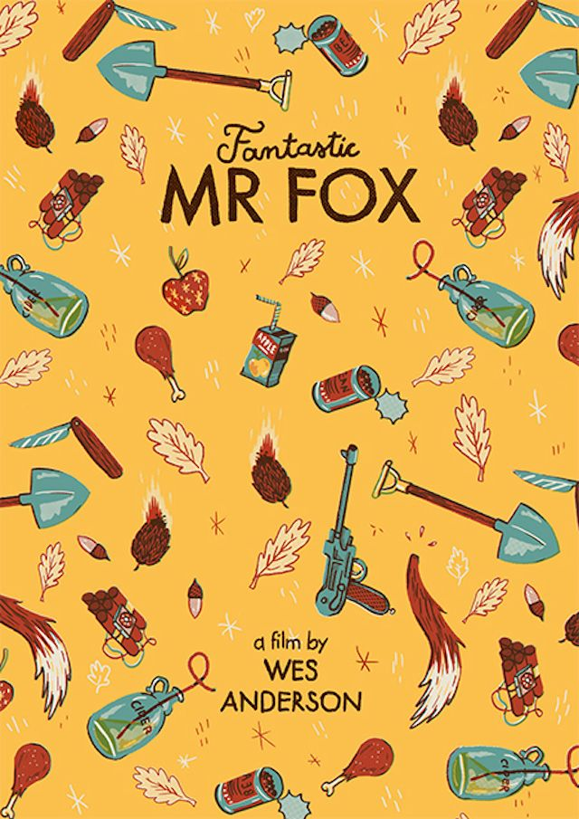 5 Fantastic Mr Fox by Andres Lozano