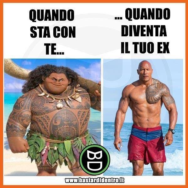 Come spiegate questa strana metamorfosi? Seguici su youtube/bastardidentro #bastardidentro #ex #ragazzo #muscoli www.bastardidentro.it