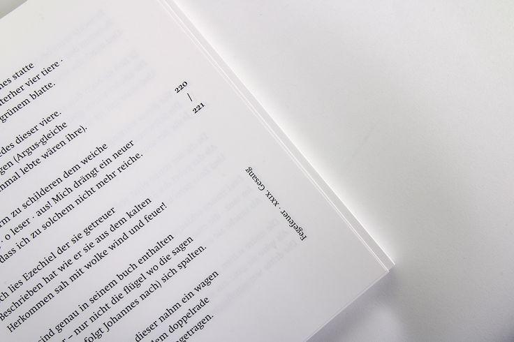 Göttliche Komödie - Übersetzungen von Stefan George on Behance