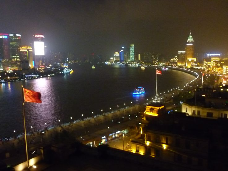 View from Sir Elly's Terrace,The Peninsula Shanghai