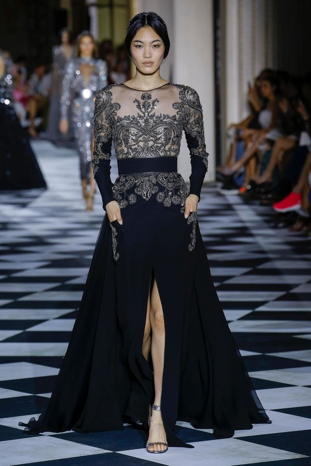 Défilé Zuhair Murad Haute couture automne,hiver 2018,2019 Femme