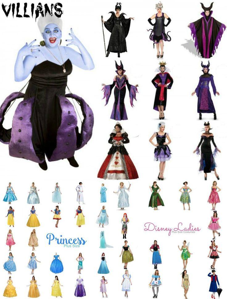 2015 Plus Size Disney Costumes