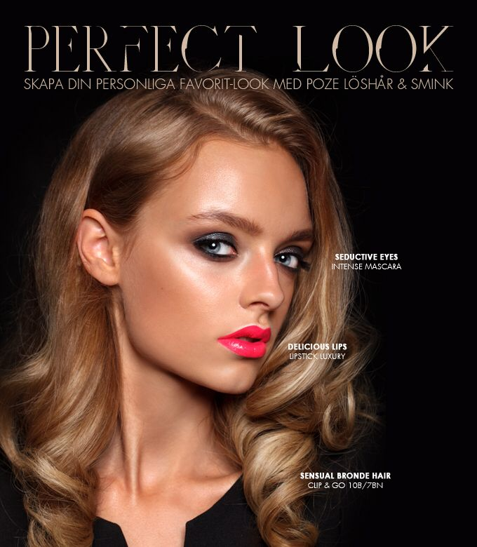The perfect look with Poze. Experience magnificent results!