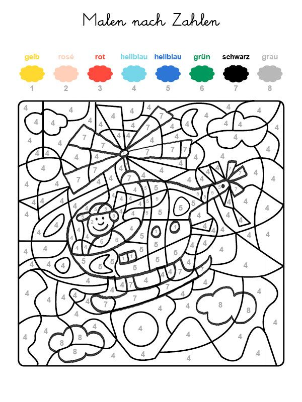 23 besten malen zahlen bilder auf pinterest  malen nach