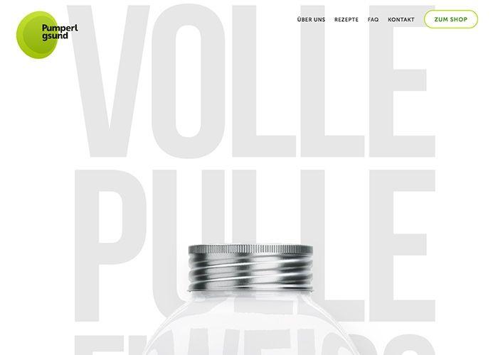 Pumperlgsund | CSS Website