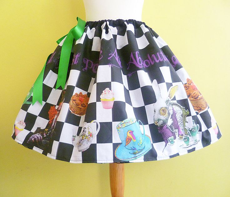 Mad Hatters Tea Party Costume, Cosplay,Alice In Wonderland Costume, Mad Hatter Skirt, ROOBY LANE, Womens Costume by RoobyLane on Etsy https://www.etsy.com/listing/130582785/mad-hatters-tea-party-costume