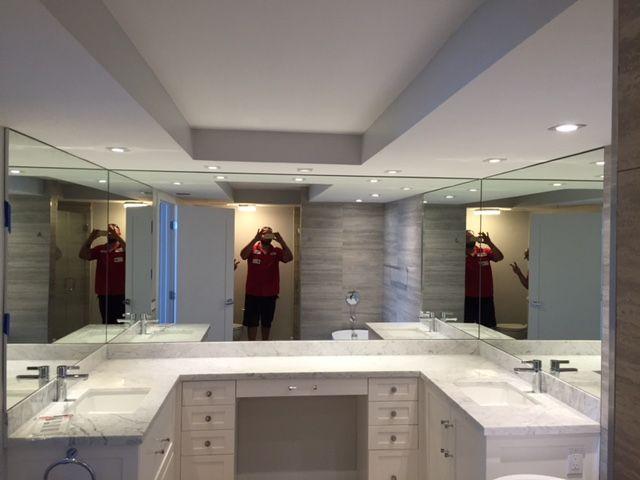 Popular LED Mirror White Light  Contemporary  Bathroom Mirrors  Miami