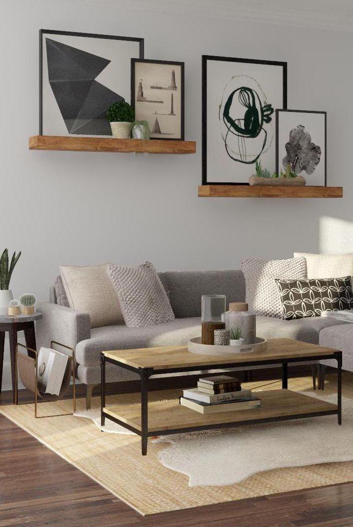 Industrial Living Room Design Inspiration Living Room Decor Modern Mid Century Modern Living Room Living Room Design Inspiration
