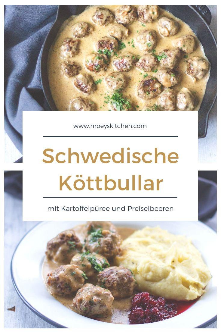 Schwedische Köttbullar mit Kartoffelpüree – moeyskitchen – Rezepte: Kochen, Backen, Essen & Trinken