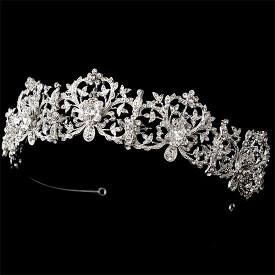 Enchanted Bridal Crown, Wedding Crown tiara It's tradition for Swedish brides to wear a crown, I'm so doing that