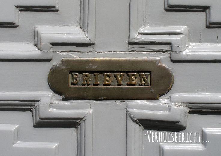 Verhuiskaart oude brievenbus OT, verkrijgbaar bij #kaartje2go voor €0,99