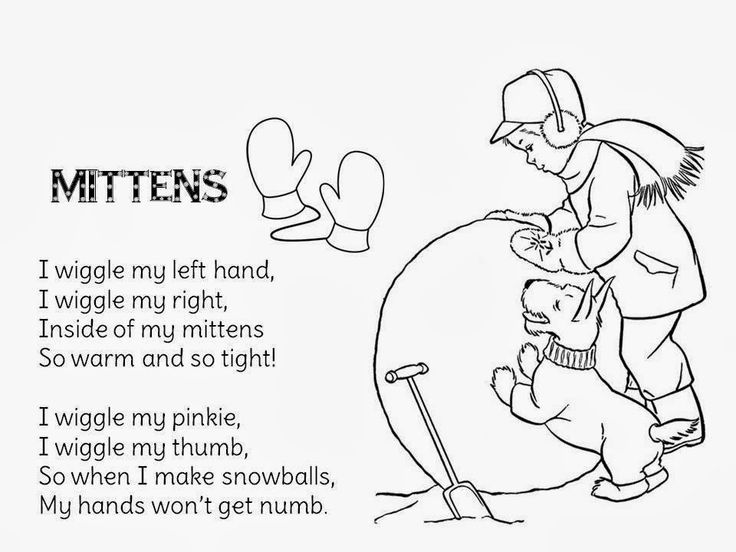 Image result for poems for december preschool
