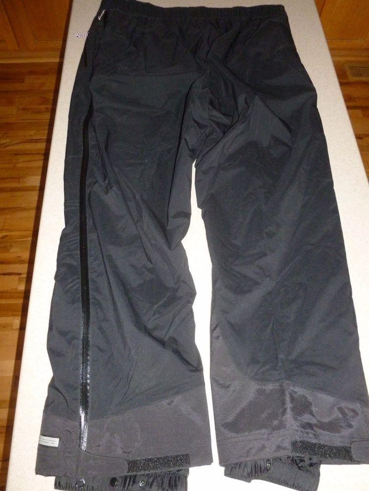 "REI E1 Elements Mens Ski Pants Lightweight ZIP OFF Trousers 30"" Inseam 2XL XXL #REI"