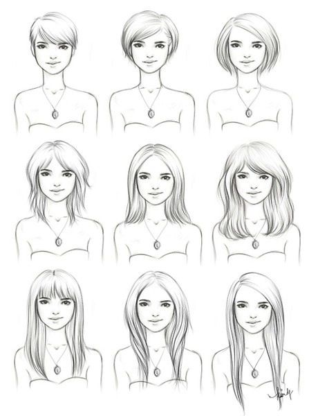 This is going to come in very handy....How to grow out your hair and style it along the way