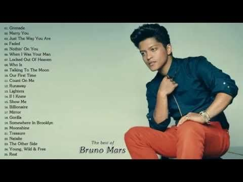 The Best of Bruno Mars | Bruno Mars's Greatest Hits (Full Album) - YouTube