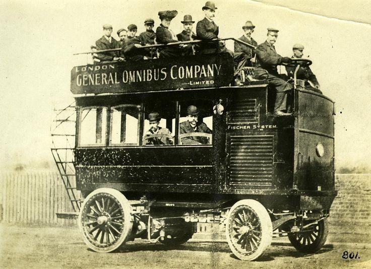 Image result for 1918 LGOC B-type Bus