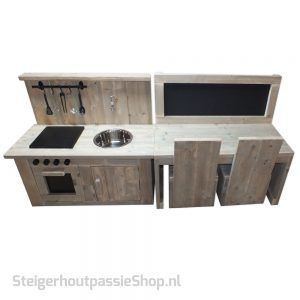 Steigerhouten Kinderspeel Set Kiddy