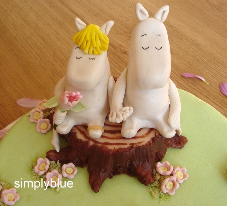 Detail of Moomin cake