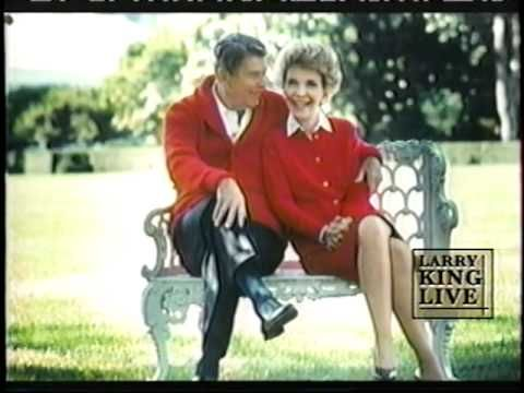 *In This Room* ~  Performed by :Shawn King ~ Ronald & Nancy Reagan ~  6.5.04 ~ Larry King Show...
