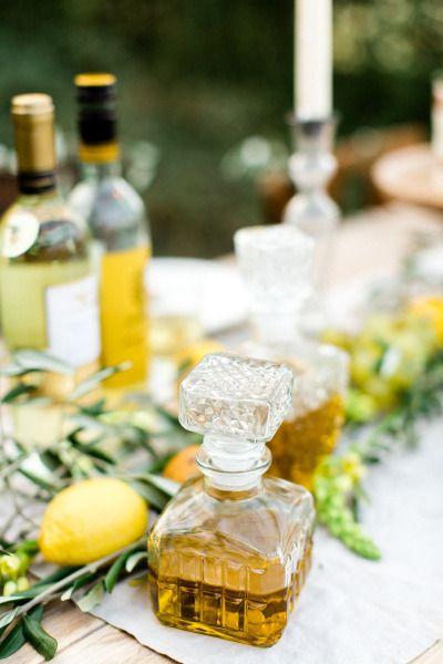 Wedding bar: http://www.stylemepretty.com/destination-weddings/2015/04/09/rustic-italian-inspiration-shoot/ | Photography: Amanda Drost - http://www.amandadrost.com/