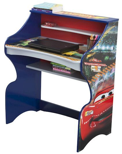 DailyCheapskate: Disney Cars Youth Desk $34 with free shipping