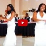 Impresionante baile de bodas entre padre e hija