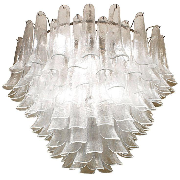 chandelier and pendant lighting. 1970s u0027lotusu0027 chandelier by murano and pendant lighting l