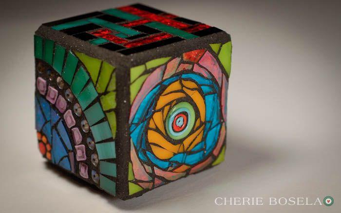 Cherie Bosela - Mosaic Art & Photography - Multiple Personality Cube 2011