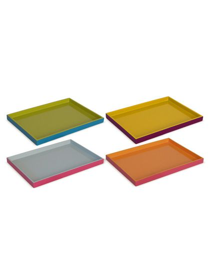 Assorted Trays (Set of 4) by Three Hands at Gilt