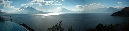 Guatemala Lago de Atitlán.