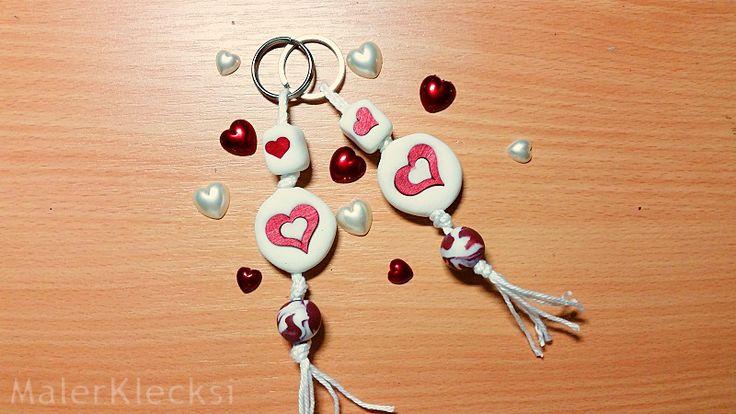 Da wohl jedem bekannt ist, dass am 14. Februar Valentinstag ist, habe ich noch eine kleine Geschenkidee für euch, Schon fast ein Last-Minute Geschenk. Selbstgemachte Partner-Schlüsselanhänger.