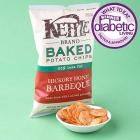 """Best Potato Chips Winner: Kettle Baked Potato Chips, Hickory Honey Barbeque (kettlefoods.com)  Why it won: Bold crunch and natural hickory smoke flavor fill each bite of these low-fat, gluten-free potato chips. Plus, each serving provides 15 percent of your daily vitamin C needs and is a good source of heart-healthy potassium.  Taste-tester's quote: """"Good crunch; great flavor. And I normally don't care for barbecue chips!""""  Nutrition facts per 1 ounce (about 20 chips):  120 cal. 21 g carb. 3…"""