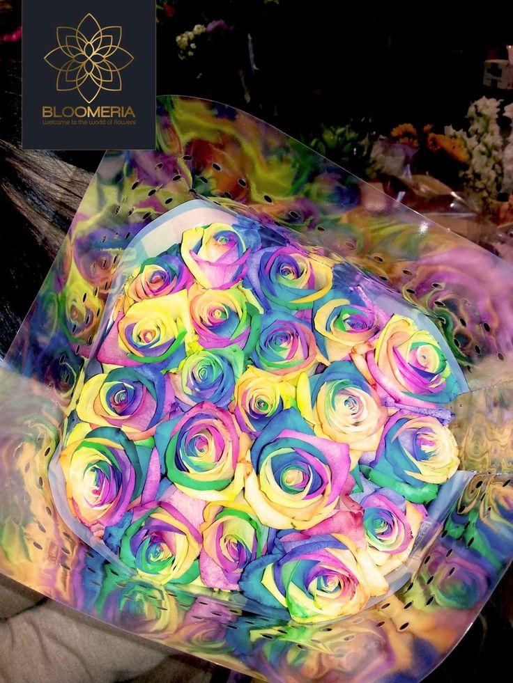 bloomeria.ro O zi colorata va dorim si un weekend plin de zambete! ☺️💐