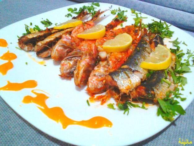 سمك في الفرن بالصور من مانينة Recipe Cooking Food Sausage