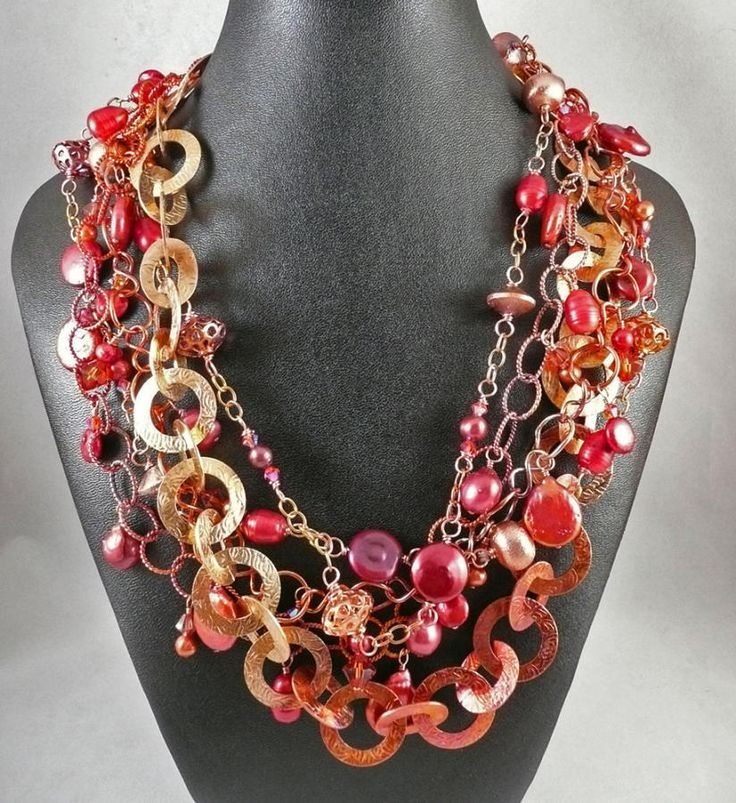 Put Out the Fire - Jewelry creation by Madalynne Homme