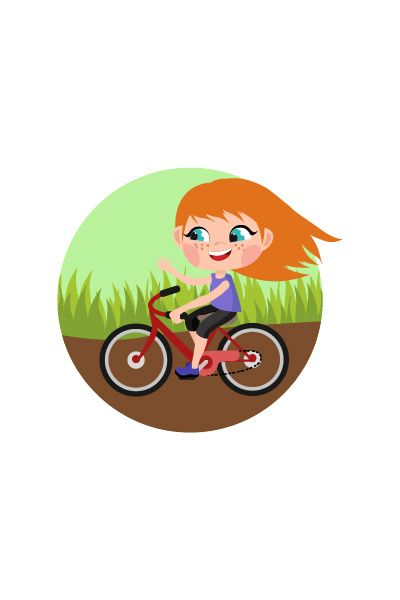 Kid Cycling Vector Image #cycling #vector http://www.vectorvice.com/kids-activities-vector