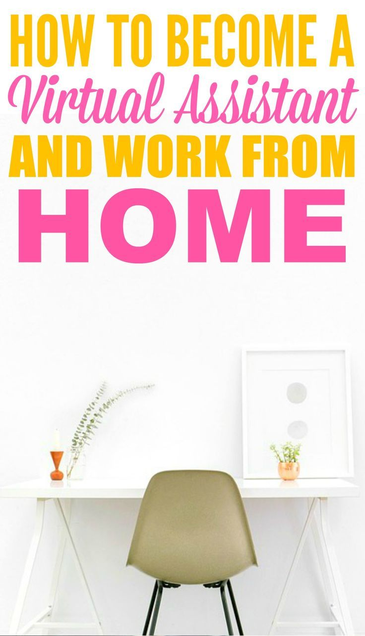 This guide on how to become a virtual assistant and work from home is THE BEST! I'm so HAPPY I found these GREAT tips! Now I have some more ideas on how to work from home! Definitely repinning!