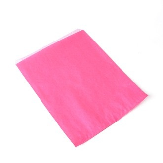 """8.5"""" x 11"""" Flat Counter Bags.  Great Vibrant Pink Colour.  From €42.50 for 1,000"""