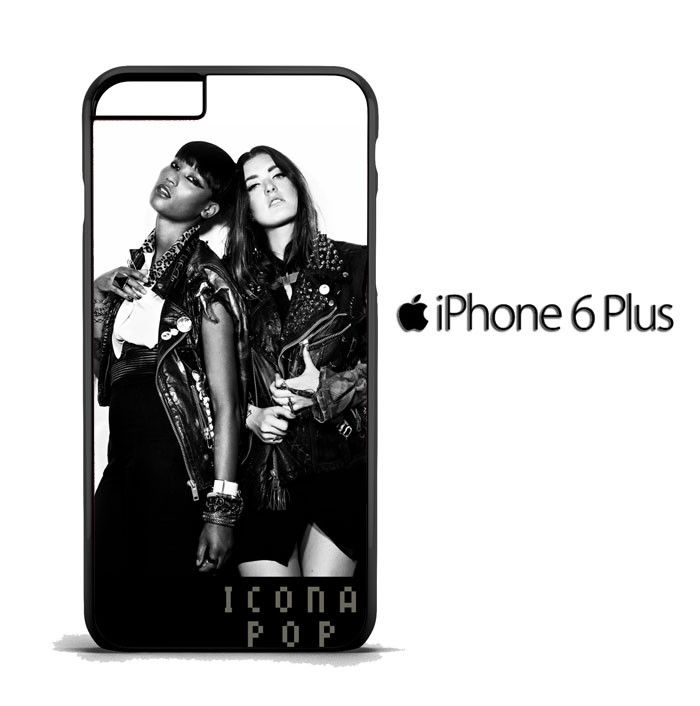 icona pop black and white R138 iPhone 6 Plus | 6S Plus Case