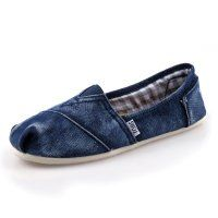 Toms fottøy Males Pink Stone - Washed Twill