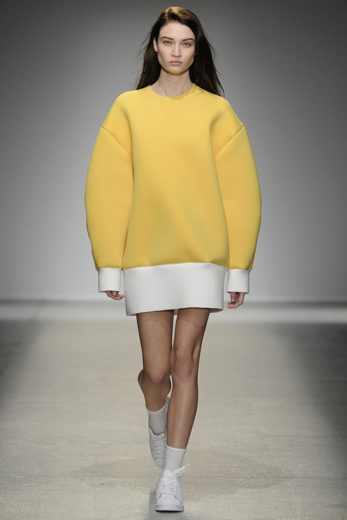 Jacquemus RTW Fall 2014 [Photo by Giovanni Giannoni]