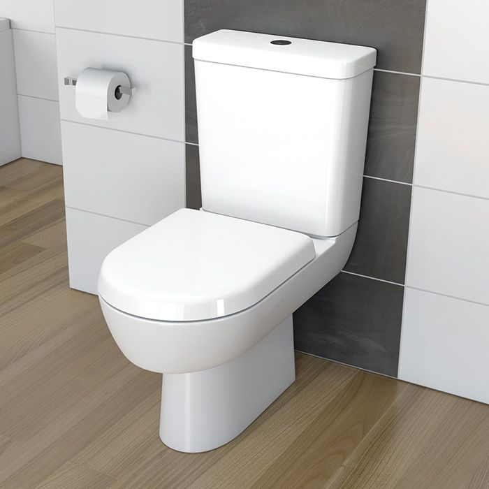 Madison Round Close Coupled WC | Lecico Bathroom Suites Part 77