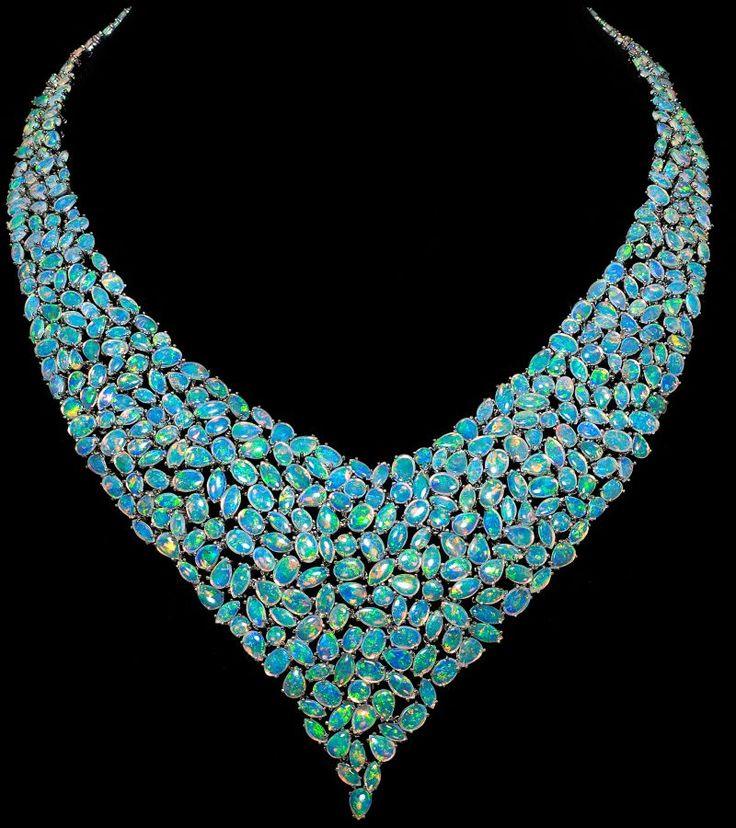 opals / a little over-the-top for me but... WOW!
