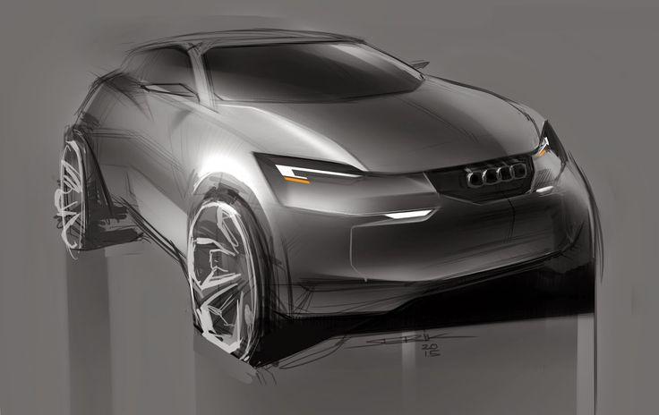 Audi Concept By Sergey Rabchyk Suv Pinterest